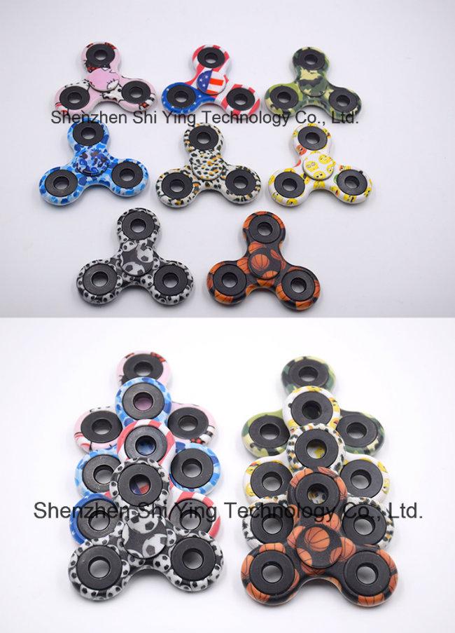 Painting Hand Spinner Toys EDC Fidget Spinner Finger Spinners Tri