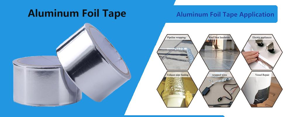 Silver Aluminum Foil Tape