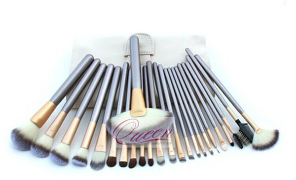 Beauty Cosmetics 24PCS Synthetic Makeup Brush Set with Bag