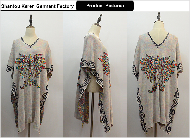Women Fashion Poncho Dress Special Design Clothes