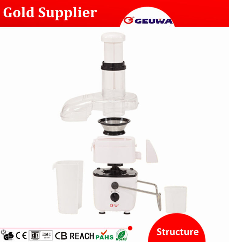 450W Powerful Food Processor: Juicer, Blender, Dry Mill