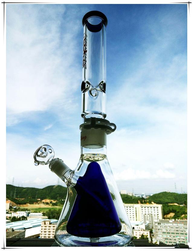 Base Beaker Perc Detached Pipe Shape Glass Smoking Water Pipe