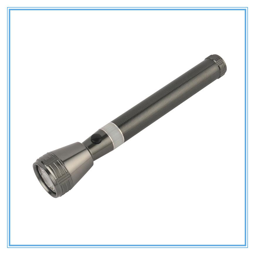 Original USA LED Brightest Aluminum Rechargeable Flashlight Torch Light