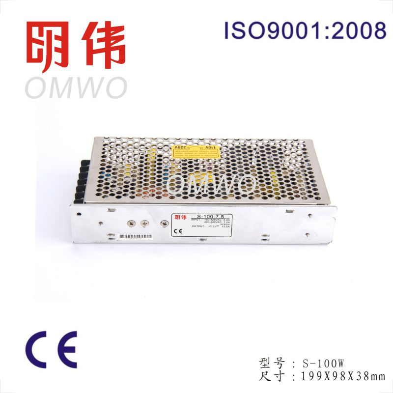 100W 15V 6.7A Switched Mode Power Supply S-100-15