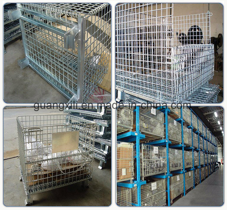 Warehouse Storage Heavy Duty Pallet Racking with Wire Mesh