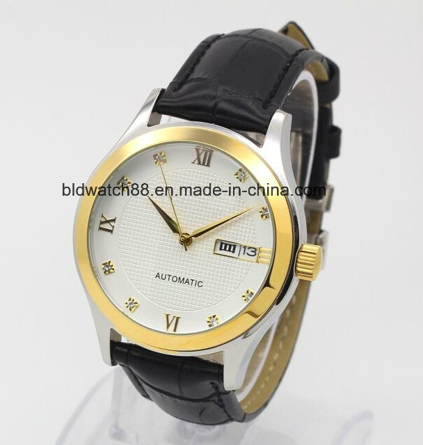 Luxury Mens Dress Watch Stainless Steel with Japan Automatic Movement