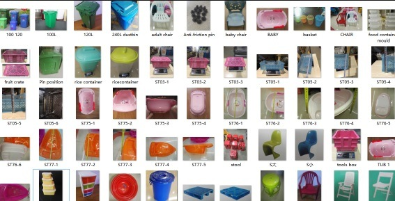Used Square Food Container Molds, Plastic Refreshing Container Stock Mould