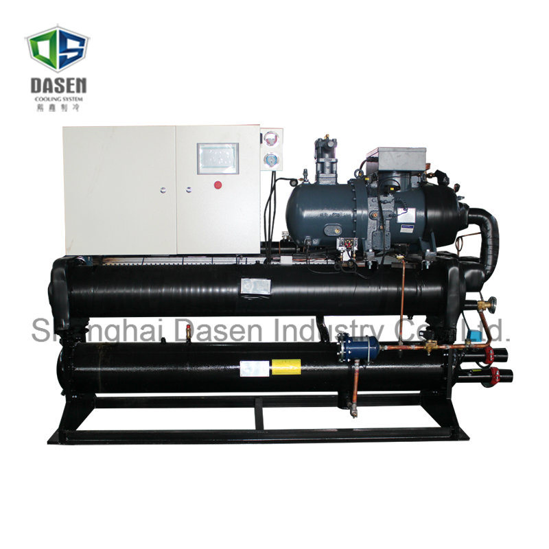 Open Type Bitzer Water Cooled Chiller Freezer