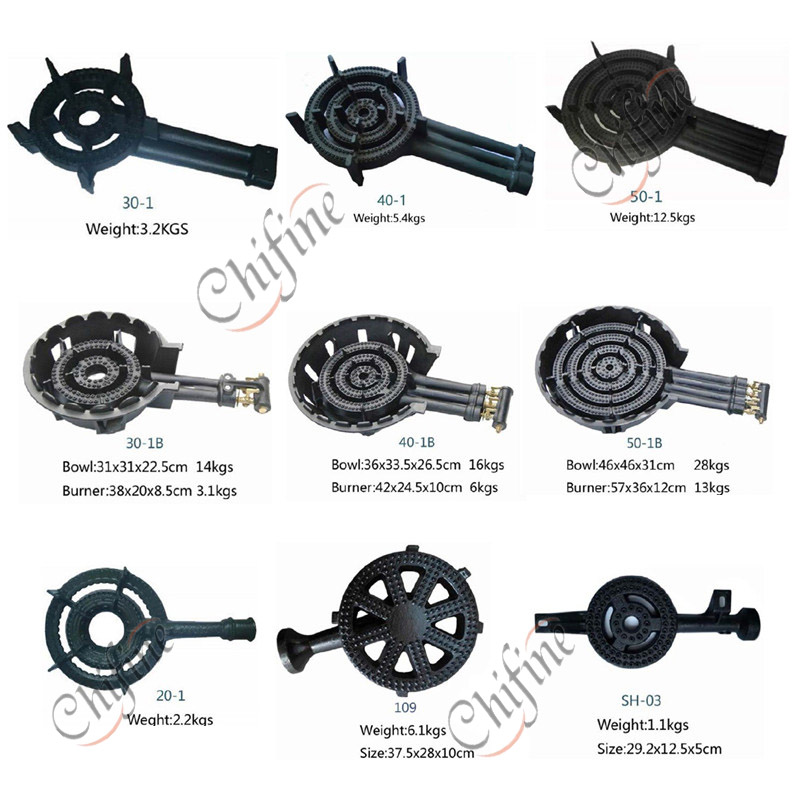 Customized Gas Burner with Valve