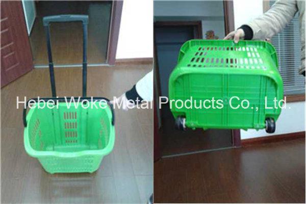 Supermarket Plastic Basket