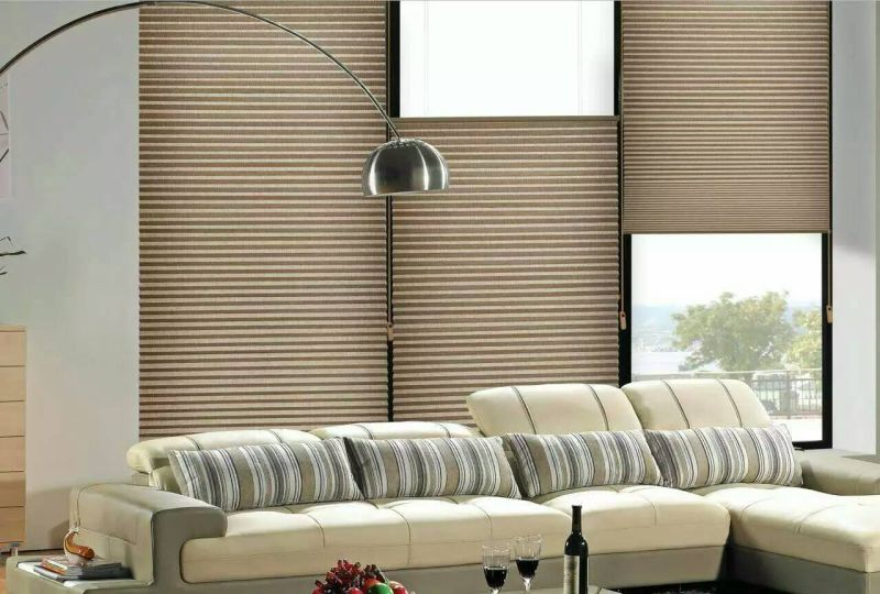 Translucent, Blackout 50%-100%Sunproof Honeycomb Blinds Roller Blinds Fabric for Living Room, Office