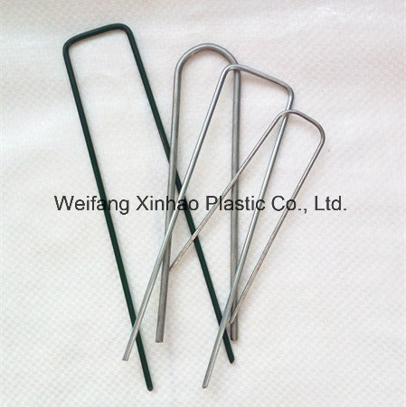 Plastic Pegs for Fixing Ground Cover/Landscape Fabric/Weed Control Mat