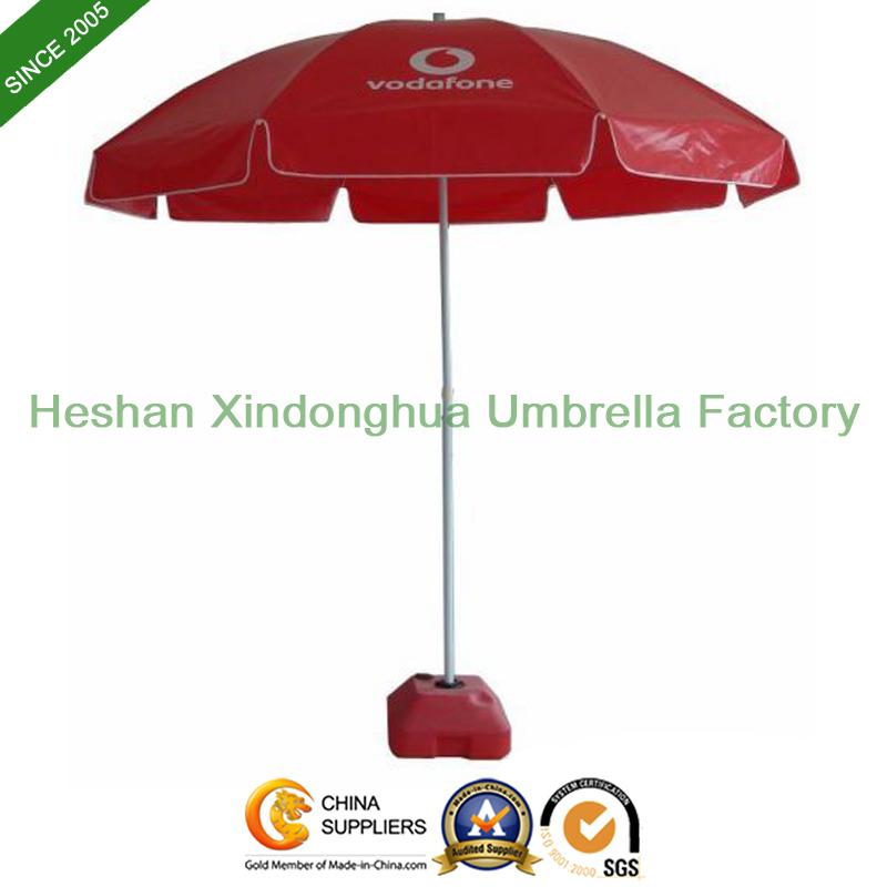Cheap Customized Beach Umbrellas with Windproof Ribs (BU-0045W)