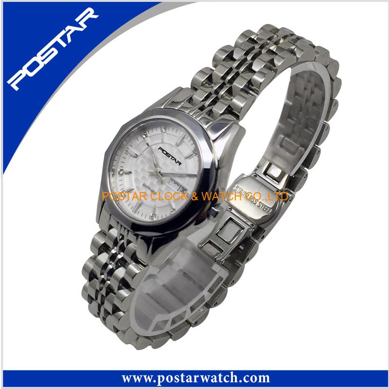 Ladies Japan Movement Quartz Watch All Stainless Steel Swiss Watch