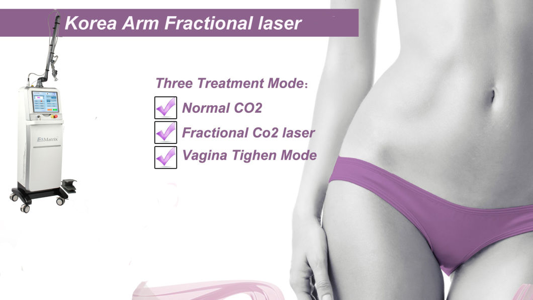 Professional Fractional CO2 Laser for Vaginal Tightening