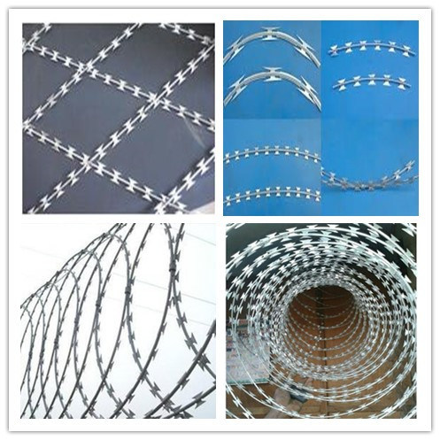 Razor Barbed Wire Mesh Machine