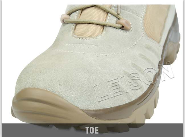 Tactical Boots of High Strength Cow Suede/ Soft and Comfortable
