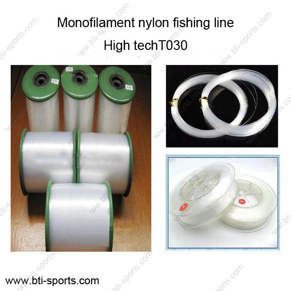 Wholesale Different Diameters Multi Colors High Tech T030 Monofilament Fishing Line Nylon Line 08c-T030