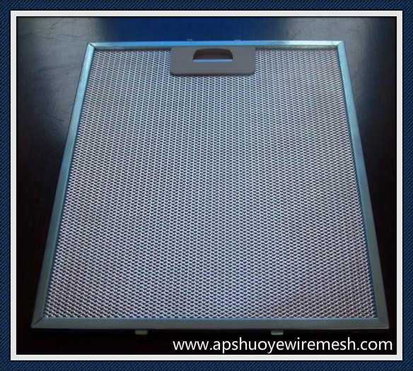 Aluminum/Galvanization /Stainless Steel Baffle Grease Filter