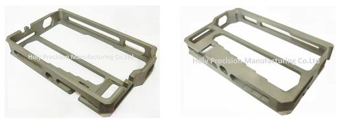 Customized CNC Spare Parts 6061 CNC Aluminum Machining Case