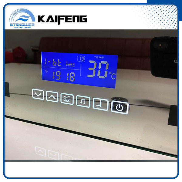 Wall Mounted Touch Screen LED Bath Mirror (SM-002)