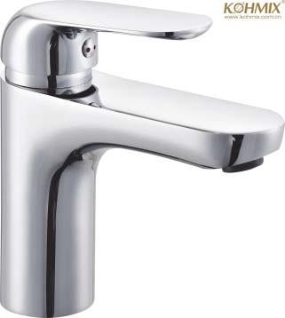 Good Selling Zinc Alloy Body Single Lever Basin Faucet