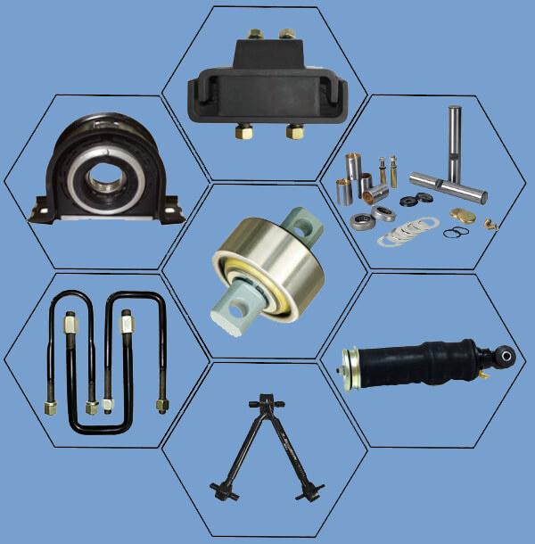 Japanese Truck Auto Parts Torque Rod Bush 49305-1110L for Nissan/Hino/Isuzu