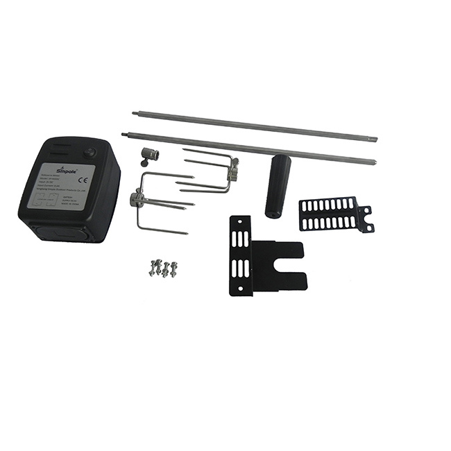 High Quality BBQ Grill Motorized Oven Rotisserie Kit
