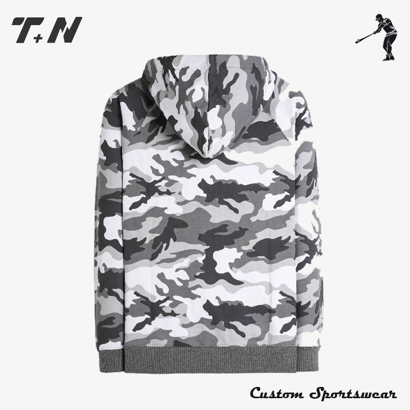 OEM Fashion Custom Sublimation All Over Print Hoodies Sweatshirt