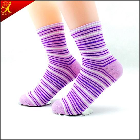 Hotsale Transparent Young Girl's Tube Socks
