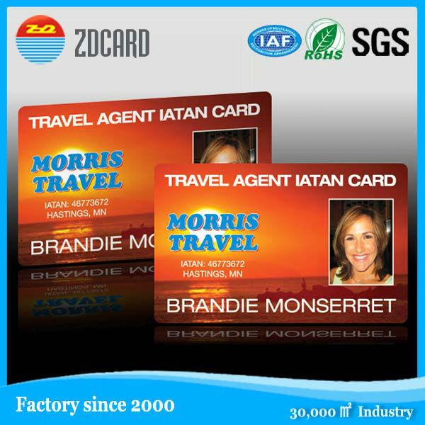Plastic PVC Facebook ID Card