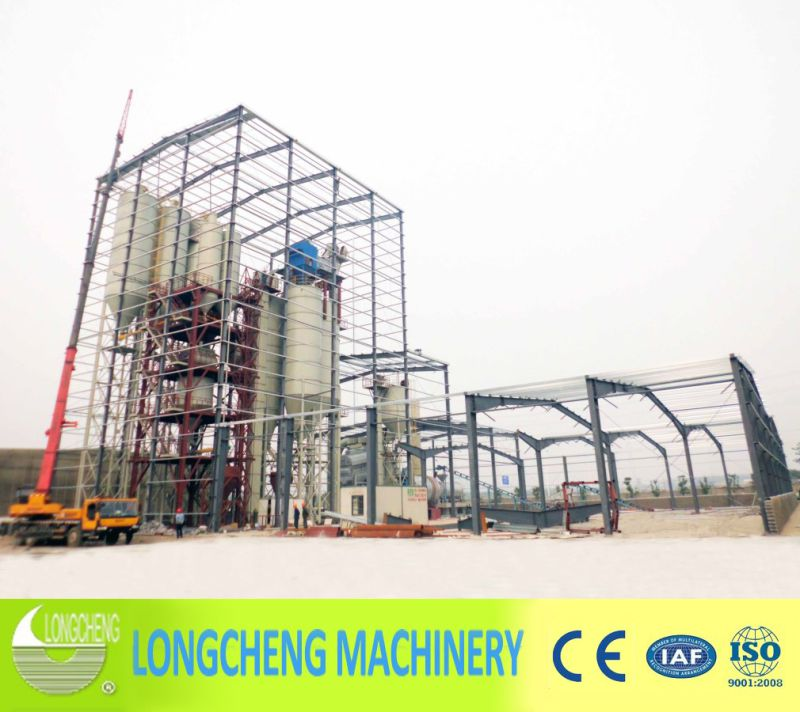 Lct Tower Type Dry Mortar Production Line