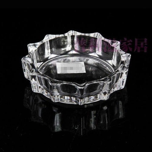 High Quality Clear Glass Ashtray Glassware Tableware Kb-Hn01320