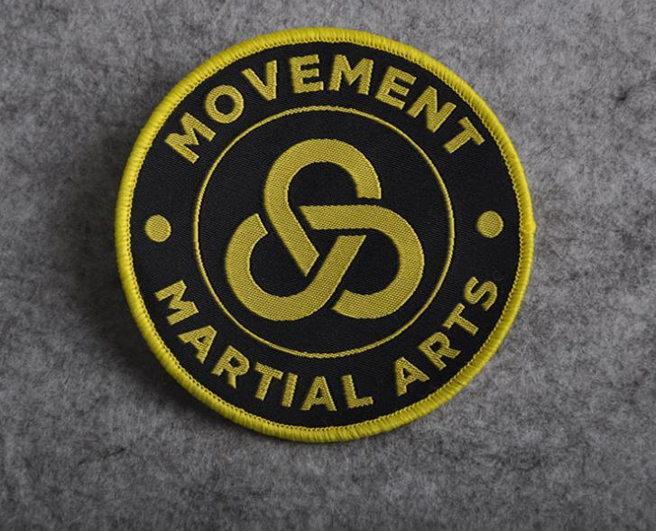 OEM Design Textile/Woven Patch for Clothing