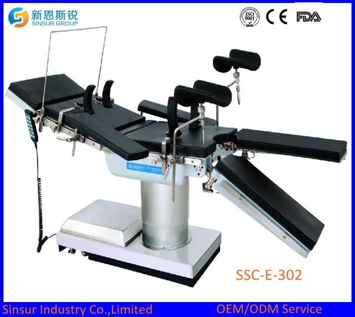 China Supply Super Low Electric Hydraulic Operating Table