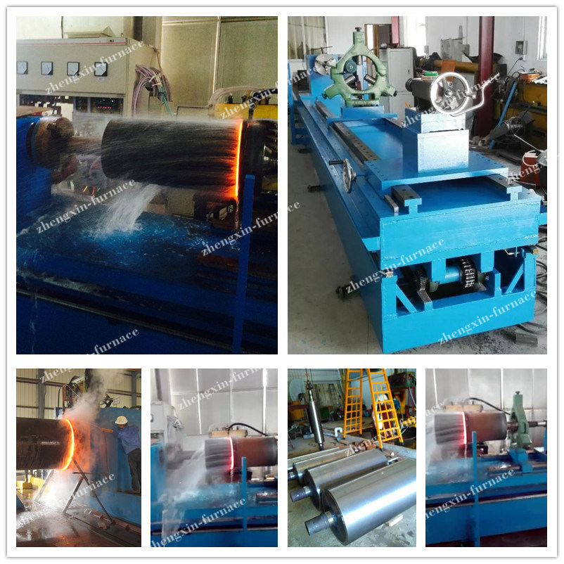 SCR Induction Heating Quenching Tools for 350mm Rollers