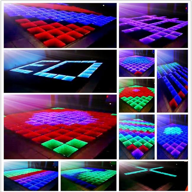 Full New RGB 3in1 LED Tunnel Effect Dance Floor
