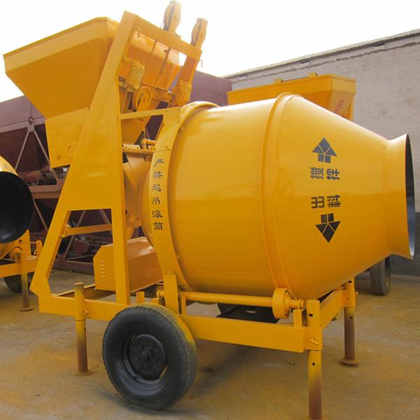 Electric Drum Concrete Cement Feed Mixer Machine
