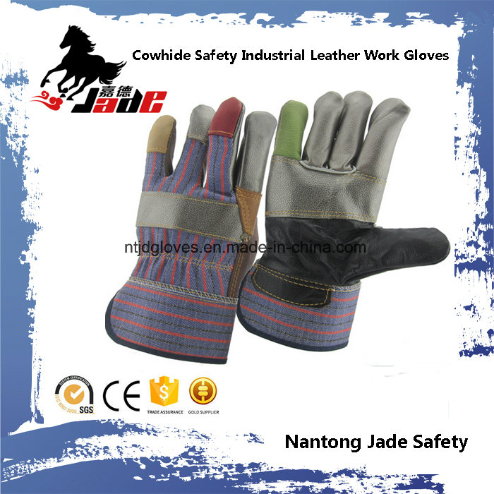 Cowhide Safety Industrial Furniture Leather Work Gloves