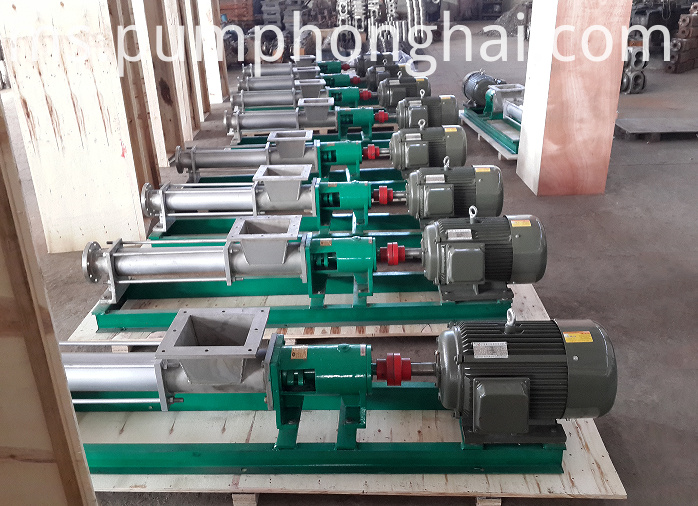 Cast Iron rotary screw pump