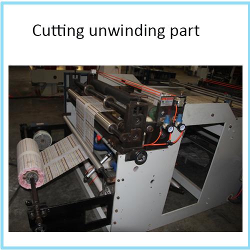 PVC Pet Roll Heat Pressing Transverse Computer Cutter Machine