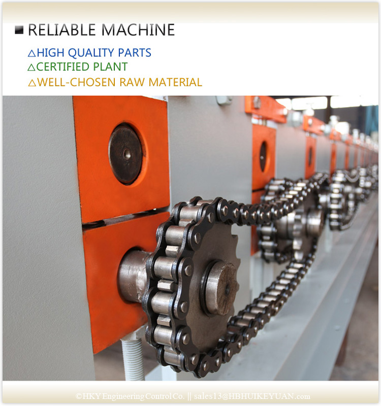 Water Wave Corrugating Sheet Rolling Machine