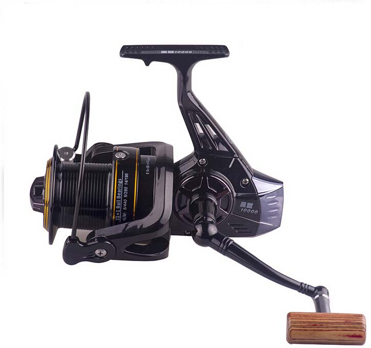 CNC Spool Long Shot Spinning Fishing Reel Sea Fishing Reel