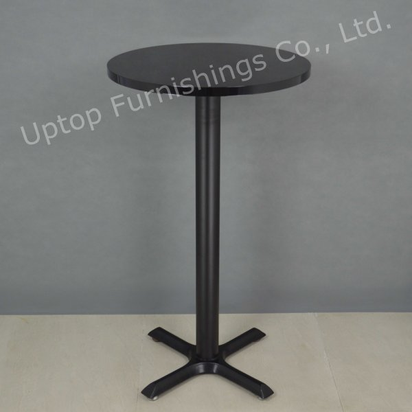 Promotional White High Round Cocktail Bar Table (SP-BT676)