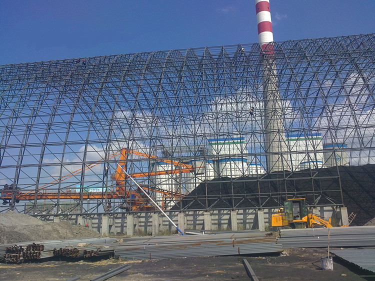 Coal Shed by Steel Space Frame