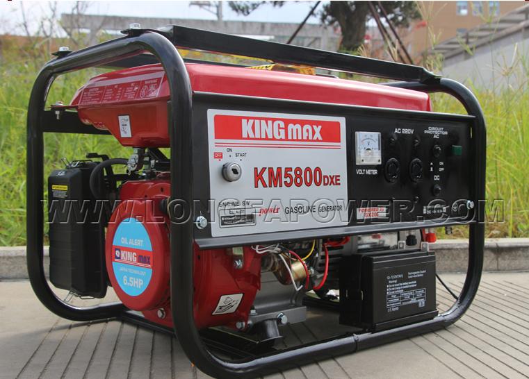 Km5800dxe 2500W Electric Start Kingmax Generator Gasoline