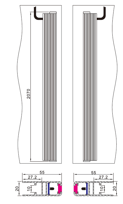 Sft Elevator Light Curtain (SFT-635)