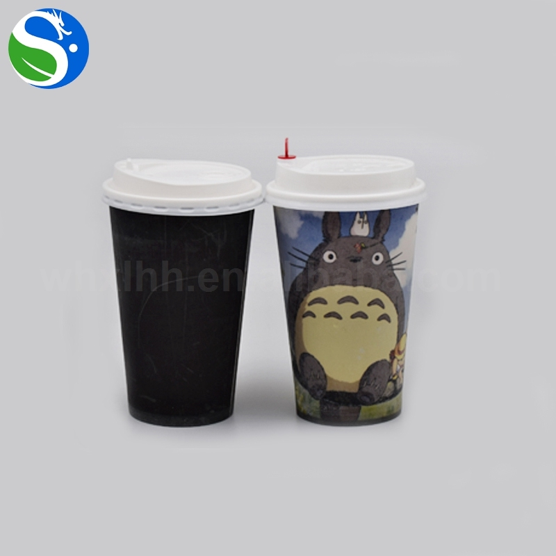 Heat Transfer Temperature Thermo, Coffee Color Changing Tea Paper Cup