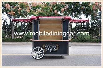 Vintage Hand Pushing Food Cart Hot Sale
