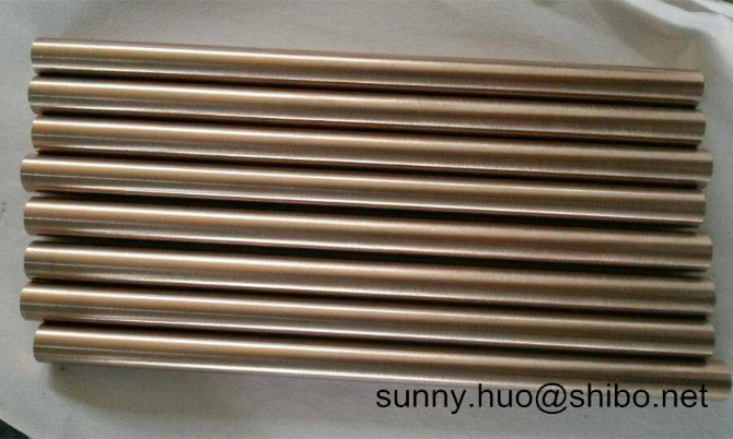 Tungsten Copper Alloy Rod, Wcu Round Bar in Wolfram Alloy (W55, W65, W75, W80, W85)